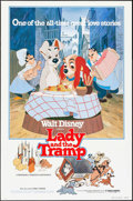 "Movie Posters:Animation, Lady and the Tramp & Other Lot (Buena Vista, R-1980). One Sheets (2) (27"" X 41""). Animation.. ... (Total: 2 Items)"