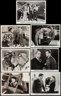 "Movie Posters:Adventure, Wings in the Dark & Other Lot (Paramount, 1935). Photos (6)(Approx. 8"" X 10) & Trimmed Photo (8"" X 9.75""). Adventure.. ...(Total: 7 Items)"