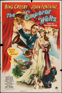 """The Emperor Waltz (Paramount, 1948). One Sheet (27"""" X 41""""). Musical"""