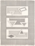 Prints:Contemporary, Frank Stella (b. 1936). Grid Stack, 1970. Lithograph onArjomari paper. 45-1/2 x 35 inches (115.6 x 88.9 cm) (sheet). Ed...