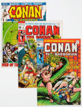 Bronze Age (1970-1979):Adventure, Conan the Barbarian Group of 42 (Marvel, 1971-81) Condition: Average NM-.... (Total: 42 Comic Books)