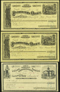 Obsoletes By State:Nevada, Carson, NV- Controller's Office Warrants 1879-1882.... (Total: 3 items)