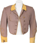 """Movie/TV Memorabilia:Costumes, A Leslie Howard Confederate Soldier Jacket from """"Gone With The Wind."""" ..."""