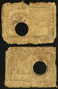 Colonial Notes:Continental Congress Issues, Continental Currency May 20, 1777 $2; $5.. ... (Total: 2 notes)