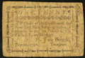 Colonial Notes:New York, (New York, NY)- New York Manufacturing Society June 22, 1790 1dHarris H23 Very Good.. ...