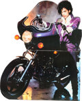 Music Memorabilia:Memorabilia, Prince Purple Rain Promotional Stand-Up (1984)....