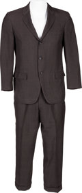 Music Memorabilia:Costumes, Buddy Holly Stage-Worn Town-Clad Suit (circa late 1950s)....