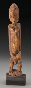 Tribal Art, A Dogon Male Figure ... (Total: 2 Items)