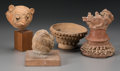 Pre-Columbian:Ceramics, Four Pre-Columbian Objects. ... (Total: 3 Items)