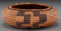 American Indian Art:Baskets, A Mission Coiled Jar...