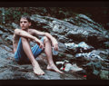Photographs, Michael Meads (American, 20th Century). Nicky at Salt CreekFalls, from the Alabama Souvenirs series, 1993. Dyecoup...