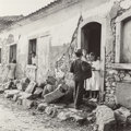Photographs, Genevieve Naylor (American, 1915-1989). Street scene in a peasant village, 1942. Gelatin silver. 7-3/8 x 7-3/8 inches (1...