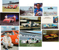 Miscellaneous Collectibles:General, 1970's-'90's NASCAR Postcards Lot of Approximately 225. ...