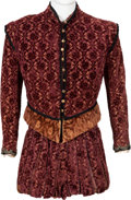 "Movie/TV Memorabilia:Costumes, A David Torrence Period Costume from ""Mary of Scotland.""..."