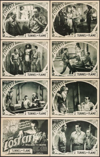"The Lost City (Super Serial Productions, 1935). Lobby Card Set of 8 (11"" X 14"") Chapter 2 --""Tunnel of Fl..."
