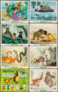 "Movie Posters:Animation, The Jungle Book (Buena Vista, 1967). Lobby Card Set of 8 (11"" X 14""). Animation.. ... (Total: 8 Items)"