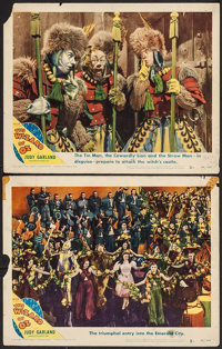 "The Wizard of Oz (MGM, R-1949). Lobby Cards (2) (11"" X 14""). Fantasy. ... (Total: 2 Items)"