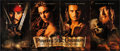"Movie Posters:Adventure, Pirates of the Caribbean: The Curse Of The Black Pearl (BuenaVista, 2003). Promotional Foldout Poster (21"" X 49.75"") DS Adv..."