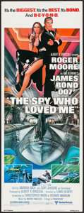 "Movie Posters:James Bond, The Spy Who Loved Me (United Artists, 1977). Insert (14"" X 36""). James Bond.. ..."