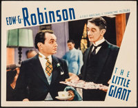 """The Little Giant (First National, 1933). Lobby Card (11"""" X 14""""). Crime"""