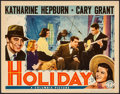 "Movie Posters:Comedy, Holiday (Columbia, 1938). Lobby Card (11"" X 14""). Comedy.. ..."