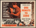 "Movie Posters:War, One Minute to Zero (RKO, 1952/R-1956). Half Sheet (22"" X 28"") &Lobby Cards (14) (11"" X 14""). War.. ... (Total: 15 Items)"