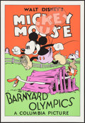 """Movie Posters:Animation, Barnyard Olympics (Circle Fine Art, R-1980s). Fine Art Serigraphs (5) (Identical) (21"""" X 30.75""""). Animation.. ... (Total: 5 Items)"""