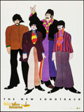 "Movie Posters:Animation, Yellow Submarine (Capitol Records, R-1999). Soundtrack Poster (36"" X 48""). Animation.. ..."