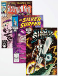 Modern Age (1980-Present):Superhero, Silver Surfer and Others Box Lot (Marvel, 1980s-90s) Condition:Average VF/NM....