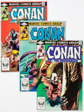 Modern Age (1980-Present):Miscellaneous, Conan the Barbarian #135-139 (Marvel, 1982) Condition: Average VF/NM....