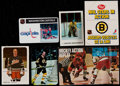 Hockey Cards:Lots, 1971-82 Multi-Brand Hockey Set Collection (11) With Extras....