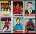 Hockey Cards:Lots, 1974 & 1977 Topps Hockey Collection (550+)....