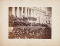 Abraham Lincoln: Large Albumen of Second Inauguration
