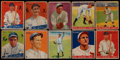 Baseball Cards:Lots, 1933 & 1934 Goudey Baseball Collection (80)....