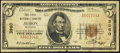 National Bank Notes:Nebraska, Albion, NE - $5 1929 Ty. 1 The First NB Ch. # 3960. ...