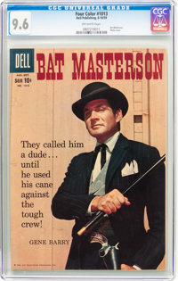 Four Color #1013 Bat Masterson (#1) (Dell, 1959) CGC NM+ 9.6 Off-white pages
