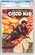 Silver Age (1956-1969):Western, Cisco Kid Comics #34 Mile High Pedigree (Baily Publication, 1957)CGC NM+ 9.6 White pages....