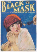 Pulps:Detective, Black Mask - October 1920 (Fictioneers Inc.) Condition: VG-....