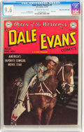 Golden Age (1938-1955):Western, Dale Evans Comics #4 Mile High Pedigree (DC, 1949) CGC NM+ 9.6Off-white to white pages....