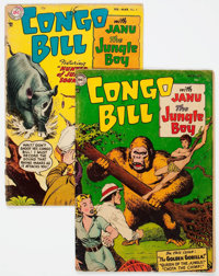 Congo Bill #1 and 4 Group (DC, 1954-55).... (Total: 2 Comic Books)