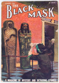Pulps:Detective, Black Mask - August 1922 (Fictioneers Inc.) Condition: VG-....