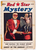 Pulps:Detective, Red Star Mystery - June 1940 (Frank A. Munsey Company) Condition: GD....