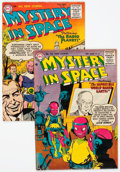 Golden Age (1938-1955):Science Fiction, Mystery in Space #28 and 30 Group (DC, 1955-56).... (Total: 2 ComicBooks)