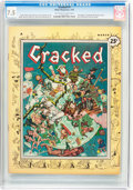 Magazines:Humor, Cracked #1 (Major Magazines, 1958) CGC VF- 7.5 Off-white to white pages....