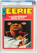 Magazines:Horror, Eerie #21 (Warren, 1969) CGC NM+ 9.6 Off-white pages....