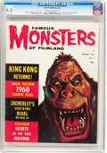 Magazines:Horror, Famous Monsters of Filmland #6 (Warren, 1960) CGC FN+ 6.5 Cream to off-white pages....