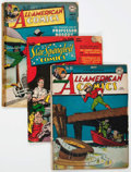Golden Age (1938-1955):Miscellaneous, Comic Books - Assorted Golden Age Comics Group of 4 (Various Publishers, 1940s) Condition: Average FR/GD.... (Total: 4 Comic Books)