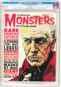 Magazines:Horror, Famous Monsters of Filmland #9 (Warren, 1960) CGC VF+ 8.5 Off-white pages....