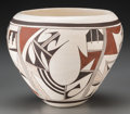 American Indian Art:Pottery, A Hopi Polychrome Jar. Marianne Navasie...