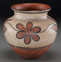 American Indian Art:Pottery, A Santo Domingo Polychrome Jar. ...